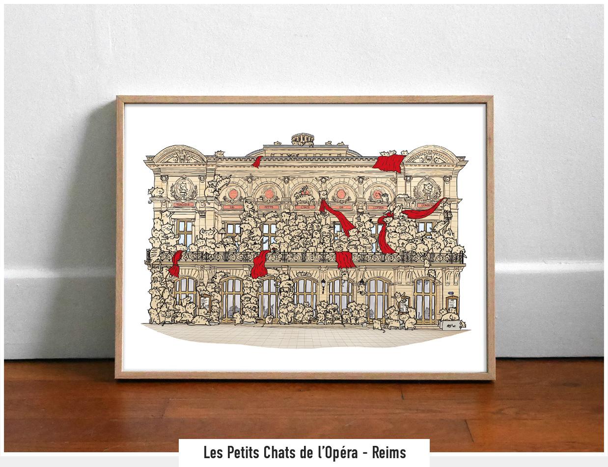 Les Petits Chats de l'opéra - Reims