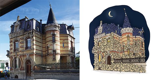 Maison en chat - Chateau de la Lune - Epernay
